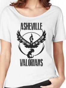 ASHEVILLE Team Valor Design #2 Women's Relaxed Fit T-Shirt
