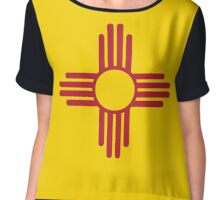 New Mexico Flag Chiffon Top