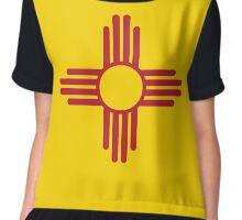 New Mexico Flag Chiffon Top