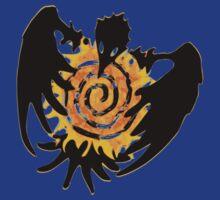Trickster Raven with Sun by Muninn