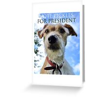 Doggy Elections 2014 Greeting Card