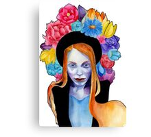Spring witch Canvas Print