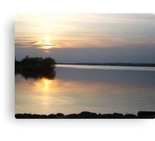 Grey Gold - Irish Sunset Canvas Print