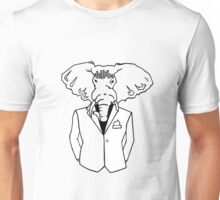 Elephant In a Tux Unisex T-Shirt