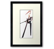 Stork Mobster Framed Print