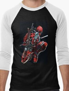 dead pool Men's Baseball ¾ T-Shirt
