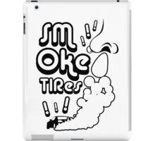 Smoke tires (4) iPad Case/Skin