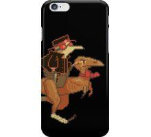 Gentleman Dinosaur Duelist #2 iPhone Case/Skin