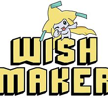 Jirachi Wish Maker by MrFluffyHead