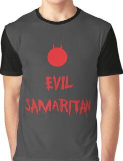 Evil Samaritan Funny Graphic T-Shirt