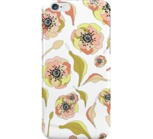 Abstract Elegance Seamless pattern. Floral background iPhone Case/Skin