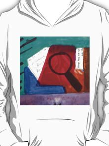 Collage Nr. 1: Magnifying T-Shirt
