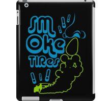 Smoke tires (5) iPad Case/Skin