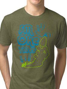 Smoke tires (5) Tri-blend T-Shirt