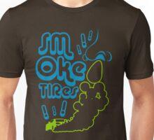 Smoke tires (5) Unisex T-Shirt