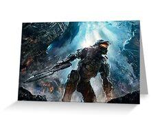 Halo Master Chief Guardians  Greeting Card