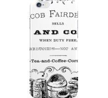 Jacob Fairdealer iPhone Case/Skin