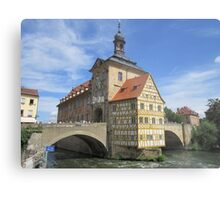 Town Hall, Bamberg - UNESCO World Heritage city Metal Print