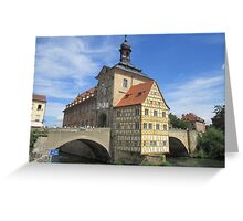 Town Hall, Bamberg - UNESCO World Heritage city Greeting Card