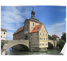 Town Hall, Bamberg - UNESCO World Heritage city Poster