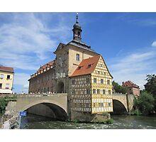 Town Hall, Bamberg - UNESCO World Heritage city Photographic Print