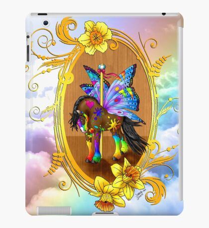 Fairytale Carousel Daffodil the Painted Gypsy iPad Case/Skin