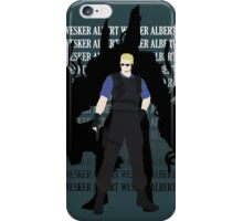 Albert Wesker  Resident Evil  iPhone Case/Skin