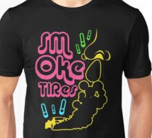 Smoke tires (7) Unisex T-Shirt
