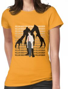 Willaim Birkin Resident Evil 2 Womens Fitted T-Shirt