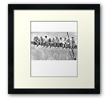 Building Empire State Building New York City Framed Print