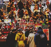 Christmas Shopping by Emma Styles