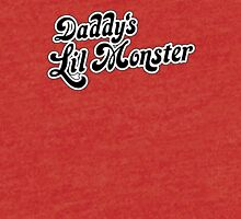 Daddy's lil monster Tri-blend T-Shirt