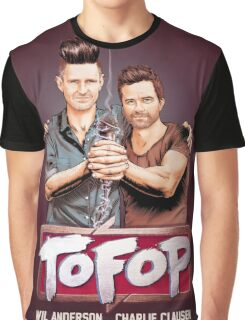 TOFOP- Gritty Rebrand Graphic T-Shirt