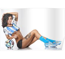 World Cup BodyPaint Poster