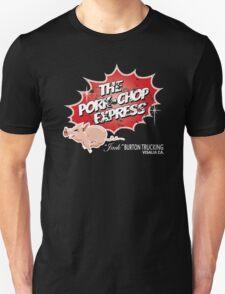 Pork Chop Express -  Distressed Unisex T-Shirt