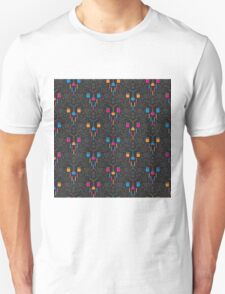Mad Science Damask Unisex T-Shirt