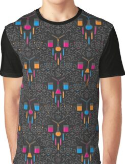 Mad Science Damask Graphic T-Shirt