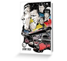 star trek Greeting Card