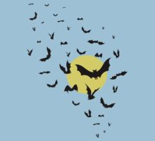 Bat Swarm Kids Clothes