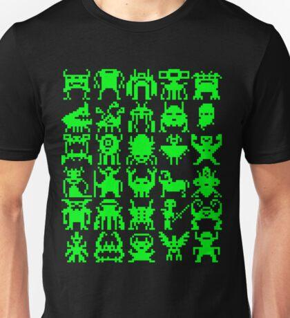 Warp Zone Creatures: Green Unisex T-Shirt