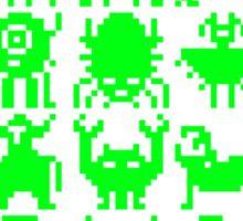 Warp Zone Creatures: Green Sticker
