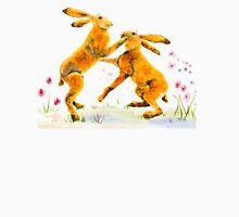 Boxing Hares Unisex T-Shirt