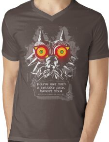 Majoras Mask - Meeting With a Terrible Fate Mens V-Neck T-Shirt