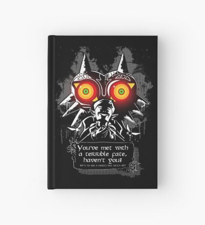 Majoras Mask - Meeting With a Terrible Fate Hardcover Journal