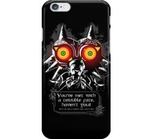 Majoras Mask - Meeting With a Terrible Fate iPhone Case/Skin