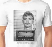 Jeffrey Dahmer Serial Killer Mugshot  Unisex T-Shirt