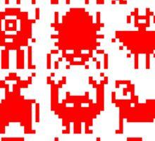 Warp Zone Creatures: Red Sticker