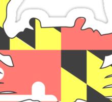 Maryland Crab - Faded Sticker