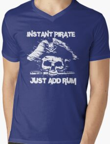 Instant Pirate Just Add Rum Mens V-Neck T-Shirt