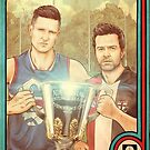 2 Guys 1 Cup AFL Podcast with Wil Anderson and Charlie Clausen by James Fosdike